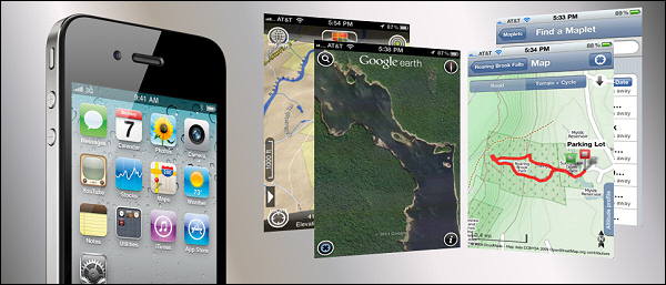 Top IPhone Map Apps Of Trails Of Freedom - Trail map apps