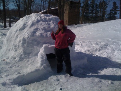 Timelapse: Igloo Construction