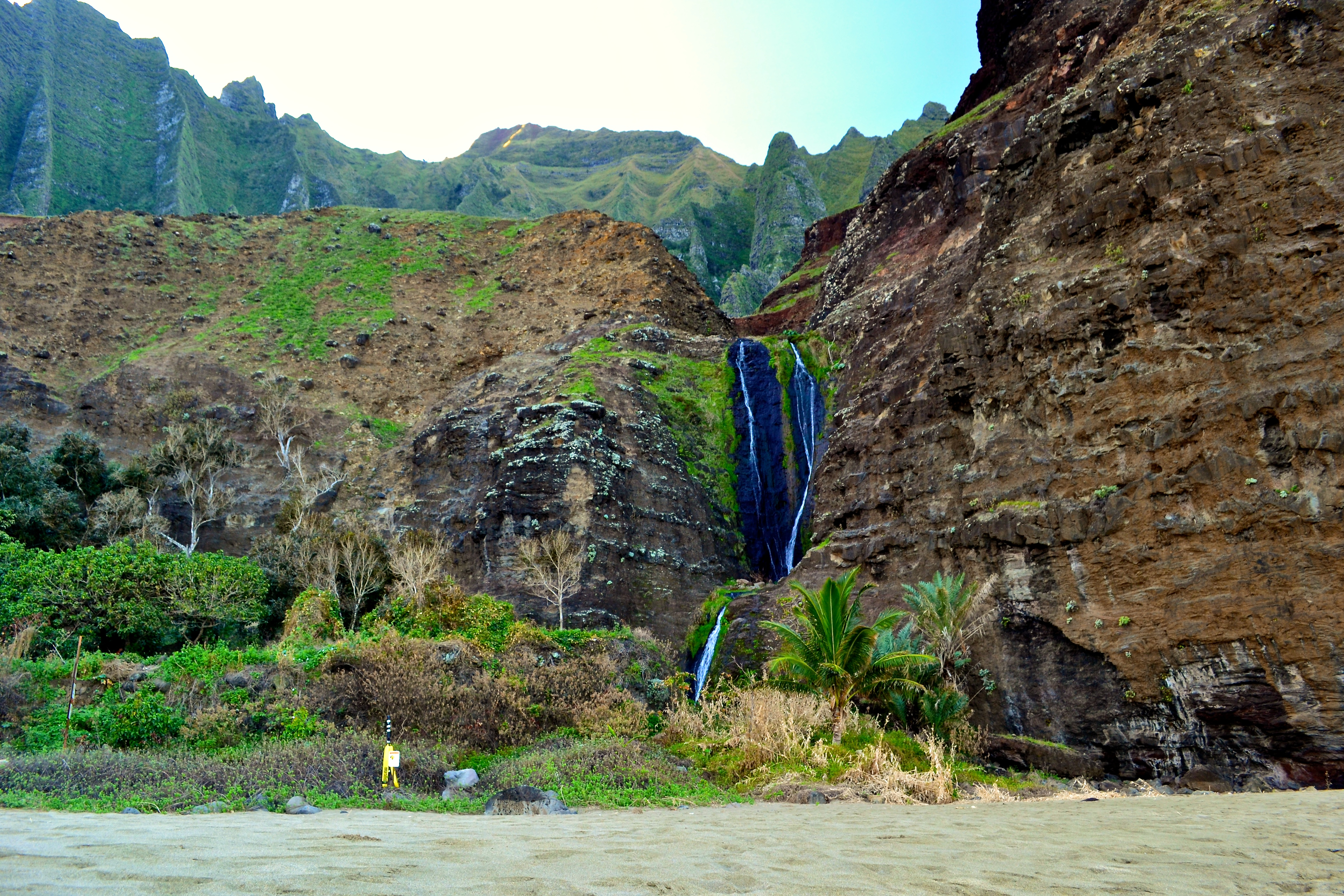 Kalalau waterfall